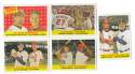 2007 Topps Heritage - Combo Cards 5 card Lot w/ SP
