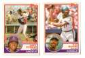1983 Topps Traded - CALIFORNIA ANGELS Team Set