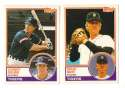 1983 Topps Traded - DETROIT TIGERS Team Set