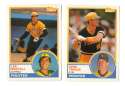1983 Topps Traded - PITTSBURGH PIRATES Team Set