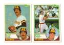 1983 Topps Traded - SAN DIEGO PADRES Team Set
