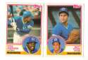 1983 Topps Traded - SEATTLE MARINERS Team Set