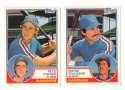 1983 Topps Traded - TEXAS RANGERS Team Set