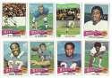 1975 Topps Football Team Set - BUFFALO BILLS