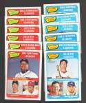 2014 Topps Heritage - League Leaders 12 card subset