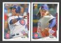 2014 Topps Opening Day - CHICAGO CUBS Team Set