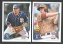 2014 Topps Opening Day - SAN DIEGO PADRES Team Set