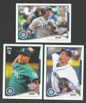 2014 Topps Opening Day - SEATTLE MARINERS Team Set