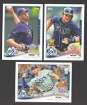 2014 Topps Opening Day - TAMPA BAY RAYS Team Set