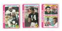 1978 Topps Football Team Set (EX+ Condition) - CINCINNATI BENGALS