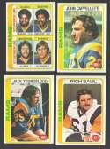 1978 Topps Football Team Set (EX+ Condition) - LOS ANGELES RAMS
