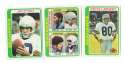 1978 Topps Football Team Set (EX+ Condition) - SEATTLE SEAHAWKS