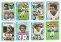 1978 Topps Football Team Set (EX+ Condition) - MINNESOTA VIKINGS