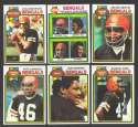 1979 Topps Football Team Set - CINCINNATI BENGALS