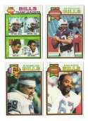 1979 Topps Football Team Set - BUFFALO BILLS