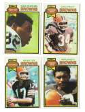 1979 Topps Football Team Set - CLEVELAND BROWNS