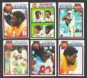 1979 Topps Football Team Set - TAMPA BAY BUCCANEERS