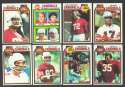 1979 Topps Football Team Set - ST LOUIS CARDINALS
