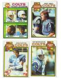 1979 Topps Football Team Set - BALTIMORE COLTS