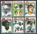 1979 Topps Football Team Set - MIAMI DOLPHINS
