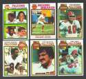 1979 Topps Football Team Set - ATLANTA FALCONS