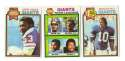 1979 Topps Football Team Set - NEW YORK GIANTS