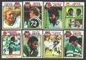 1979 Topps Football Team Set - NEW YORK JETS