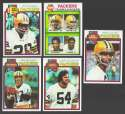 1979 Topps Football Team Set - GREEN BAY PACKERS