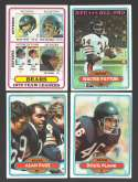 1980 Topps Football Team Set - CHICAGO BEARS  ** Read