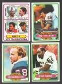 1980 Topps Football Team Set - BUFFALO BILLS