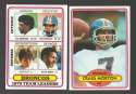 1980 Topps Football Team Set - DENVER BRONCOS