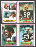 1980 Topps Football Team Set - CLEVELAND BROWNS
