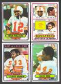 1980 Topps Football Team Set - TAMPA BAY BUCCANEERS