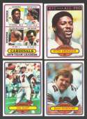 1980 Topps Football Team Set - ST LOUIS CARDINALS