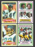 1980 Topps Football Team Set - SAN DIEGO CHARGERS