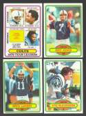 1980 Topps Football Team Set - BALTIMORE COLTS