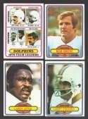 1980 Topps Football Team Set - MIAMI DOLPHINS