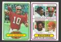 1980 Topps Football Team Set - ATLANTA FALCONS