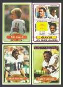 1980 Topps Football Team Set - NEW YORK GIANTS