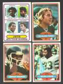 1980 Topps Football Team Set - NEW YORK JETS