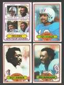 1980 Topps Football Team Set - HOUSTON OILERS
