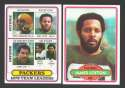 1980 Topps Football Team Set - GREEN BAY PACKERS
