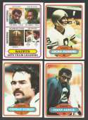 1980 Topps Football Team Set - NEW ORLEANS SAINTS