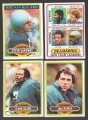 1980 Topps Football Team Set - SEATTLE SEAHAWKS
