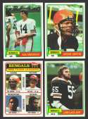 1981 Topps Football Team Set - CINCINNATI BENGALS