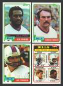 1981 Topps Football Team Set - BUFFALO BILLS