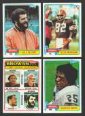 1981 Topps Football Team Set - CLEVELAND BROWNS