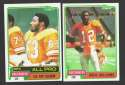 1981 Topps Football Team Set - TAMPA BAY BUCCANEERS