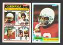 1981 Topps Football Team Set - St Louis CARDINALS
