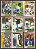 1981 Topps Football Team Set - DALLAS COWBOYS